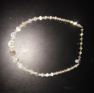 Jewlery B1G2 free- vintage crystal necklace